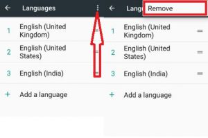 Remove Google Assistant language in nougat