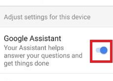 Fix Google Assistant not working