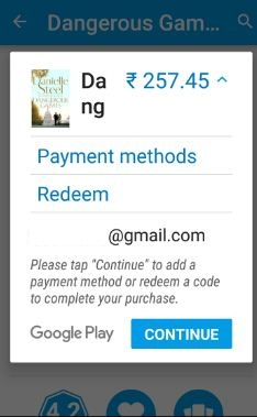 Google Play store payment issues