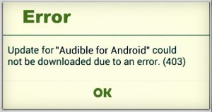 fix Google play store error 403
