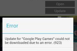 fix Google play store error 923