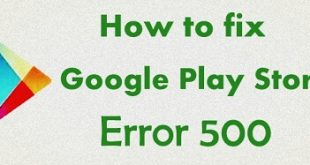 Fix Google Play Store error 500