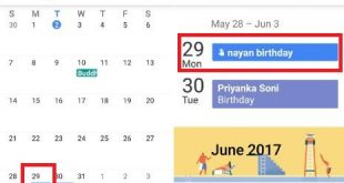 How to find calendar events android phone