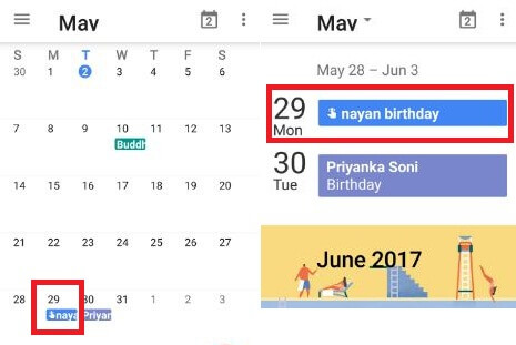 how to delete calendar events on android phone
