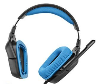 Logitect wireless gaming headphone