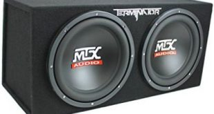 MTX Best car subwoofers for deep bass