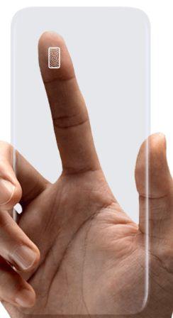 Set up fingerprint on Samsung galaxy S8 phone