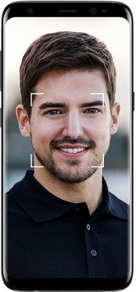 how to set up face recognition on Samsung galaxy S8