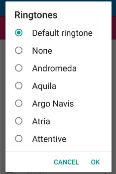 set individual ringtone for contacts on android 7.0 Nougat
