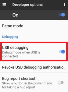 Enable USB debugging Google Pixel & Pixel XL