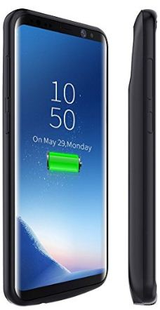 Iconic galaxy S8 battery case