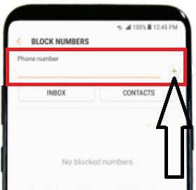 block messages on Samsung galaxy S8 and galaxy S8 plus