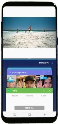 fix Galaxy S8 split screen problem