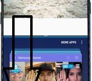 use multi window on Samsung galaxy S8 phone
