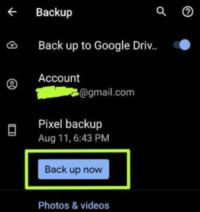 How to Backup and Restore Google Pixel Data
