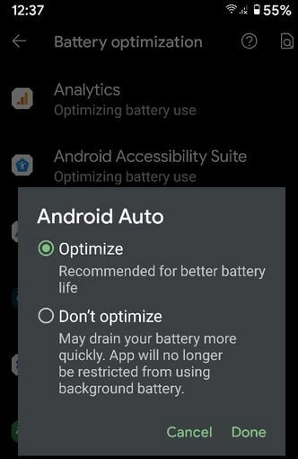 How to Optimize Battery For Apps in Google Pixel