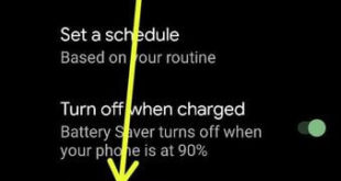 How to Turn On Battery Saver Mode Google Pixel and Pixel XL