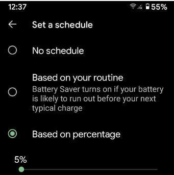 Turn On Battery Saver Mode Google Pixel