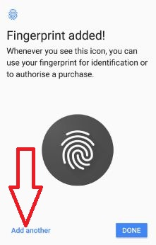 Use fingerprint on Google pixel and pixel XL phone
