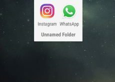 create app folder on Google Pixel phone