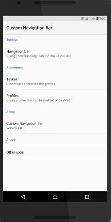 Customize navigation bar on android 8.0 Oreo