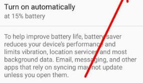 Enable battery saver mode in android 8.0 Oreo