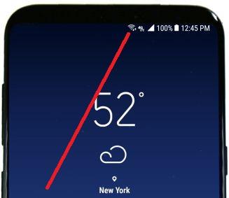 Fix slow internet on Samsung galaxy S8 plus phone