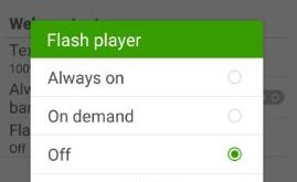 How to Install flash player on galaxy S8 plus
