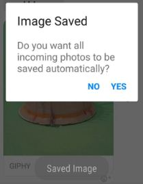Save GIF image from facebook messenger on android