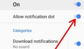 disable notification dots on android 8.0 Oreo
