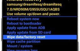 hard reset Samsung galaxy S8 plus phone