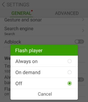 manually install flash player on android phone