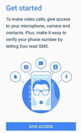 set up Google Duo on Pixel phone