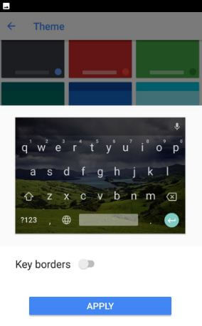 Change keyboard theme on android Oreo 8.0