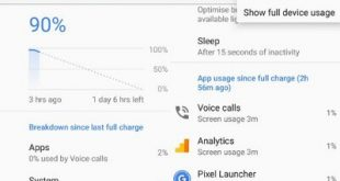 Customize battery saver mode in android Oreo 8.0