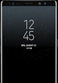 Disable Galaxy Note 8 always on display