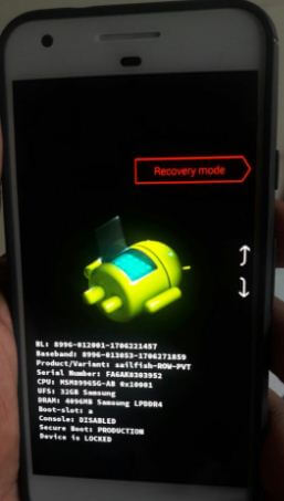 Enter android Oreo into recovery mode using ADB command