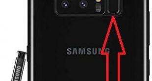 How to set up fingerprint sensor on Galaxy Note 8