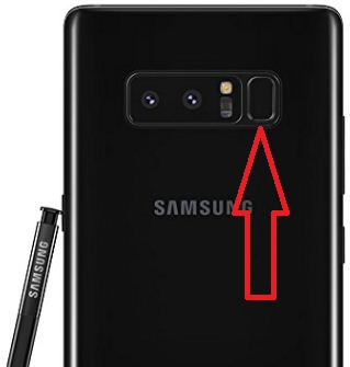 How to set up fingerprint sensor on Galaxy Note 8