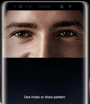 Set up Iris scanning on Galaxy Note 8