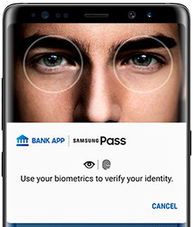 Set up and use Samsung Pass on Galaxy Note 8