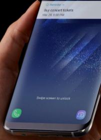 Change lock screen shortcuts on Galaxy Note 8
