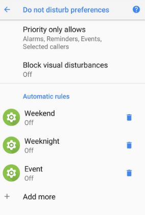 enable Do not disturb driving mode on Pixel 2 and Pixel 2 XL