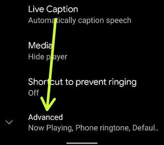 Go to advanced settings to activate now playing in Pixel 2