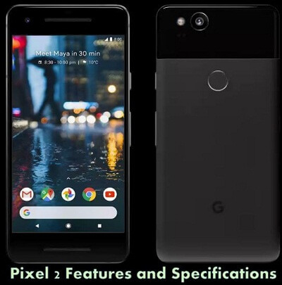 Pixel 2 Features and Specs