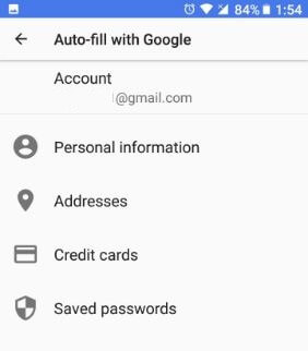 Set autofill manager in android Oreo 8.0