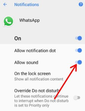 Turn off app notification sound on Pixel 2 and Pixel 2 XL
