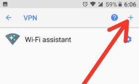 Use VPN in android Oreo devices