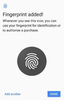 Use fingerprint on Pixel 2 and Pixel 2 XL