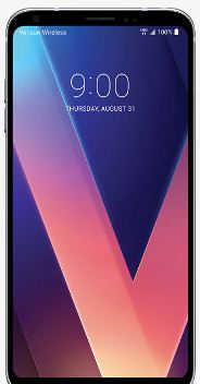Add icons to lock screen on LG V30 phone